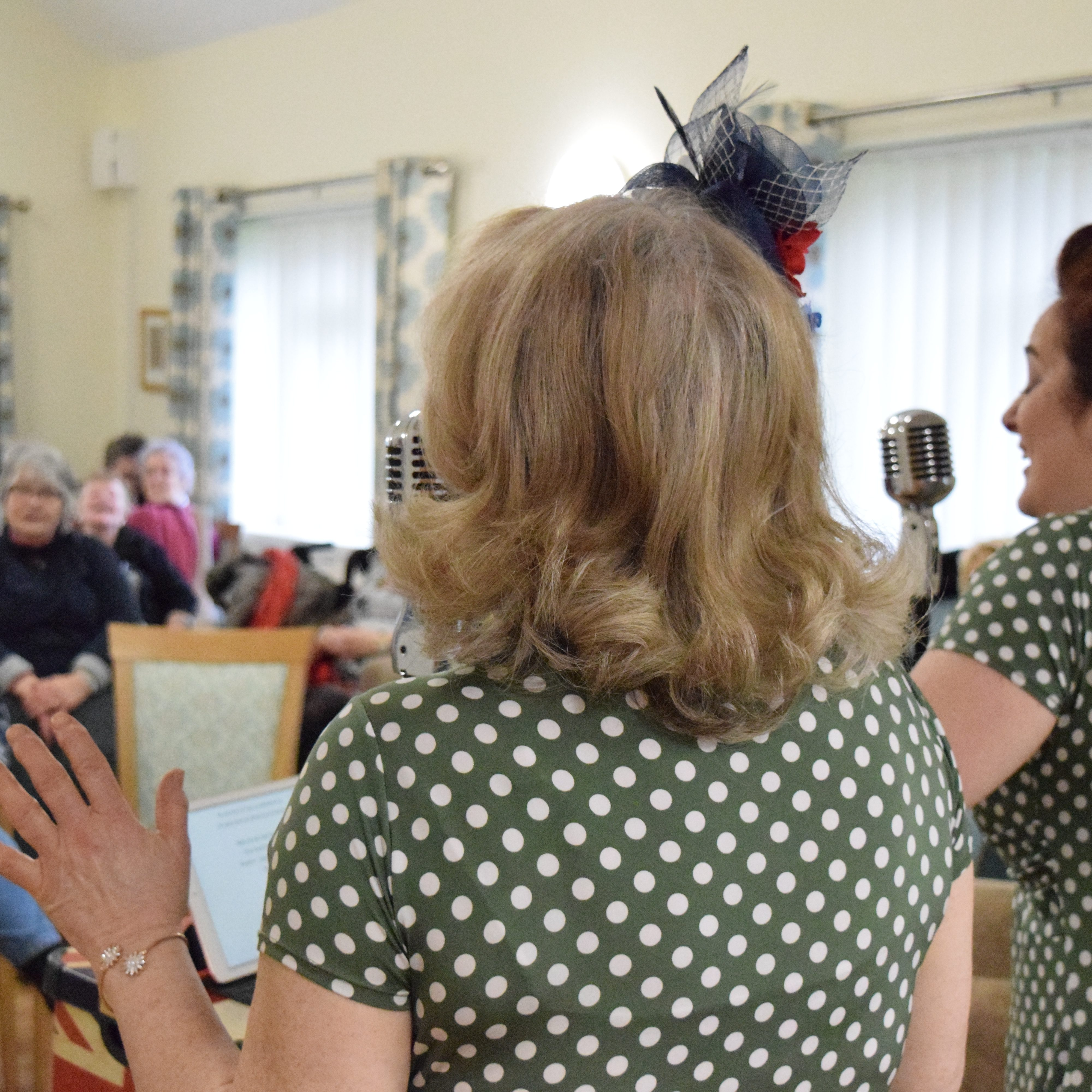 The Poppy Sisters at Lynworth Court aperture style photo